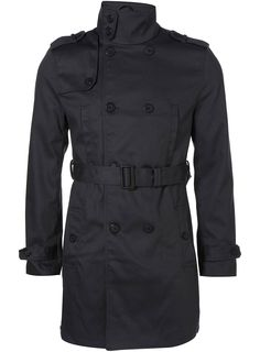 This black trench coat looks like the modern version featured on the cover of THE BLACK COUNTRY. Charcoal Full Length Mac - Trench Coats - Mens Jackets & Coats - Clothing - TOPMAN