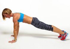 Master our plank challenge for a seriously stronger core in just one month. Each move is designed to get you in bikini body shape—stat. Plank Exercise Routine, Abs Workout Routines, Plank Workout, Circuit Training Workouts, Abs Workout Video, Workout Circuit, Soccer Workouts, Core Workouts, Workout Plans