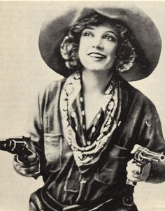 """Mary Louise """"Texas"""" Guinan (1884-1933) -  born in Waco, TX - saloon keeper, actress, and entrepreneur. She became the United States' first movie cowgirl, nicknamed """"The Queen of the West"""". She was one of the first female emcees. Upon the introduction of Prohibition, she opened a speakeasy called the 300 Club at 151 W. 54th Street in New York City (1920)."""