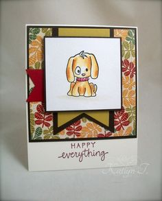 Happy...everything! by K. Joy - Cards and Paper Crafts at Splitcoaststampers
