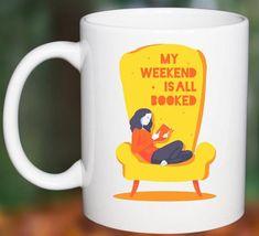 #BookReader Mug #BookishGifts WritersRelief.com