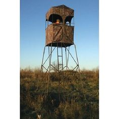 Hunting Outpost Tower And Blind Kit Rivers Edge 10' 500Lb Weight Capacity