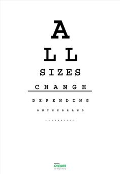 Optica Caroni - See things clearly - 2012 Weight Loss Secrets, Easy Weight Loss, Healthy Weight Loss, Typography Ads, Lettering, Print Advertising, Print Ads, Reduce Weight, How To Lose Weight Fast