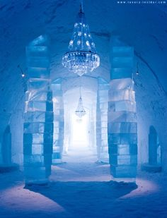 Sweden's Ice Hotel - one of my earliest travel dreams