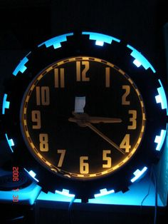 1000 Images About Neon Clocks On Pinterest Clock Neon