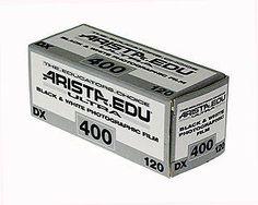 ** for my Holga! Arista EDU Ultra 400 ISO 120 size