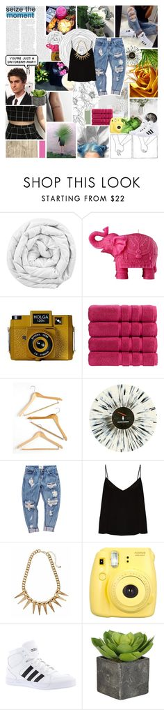 """""""Every time I get away You find a way to reel me back in, aah Tell me that you love me Hold me tight so we can always be friends"""" by ditzy22 ❤ liked on Polyvore featuring Brinkhaus, Mario Luca Giusti, Holga, Christy, Honey-Can-Do, OneTeaspoon, Raey, Fujifilm, Mon Cheri and adidas"""
