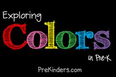 A whole theme based unit for learning colors