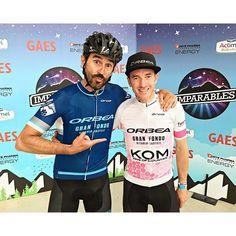 Muy muy contento tras ganar el Premio KOM en la Gran Fondo Vitoria-Gasteiz de @orbeabicycles con @imparablestv!!! Recorrido y gente espectaculares!!! by ibzugasti