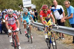 Vuelta a Espana 2014 stage 14 gallery - Alberto Contador escapes with Joaquin Rodriguez on stage fourteen of the 2014 Tour of Spain