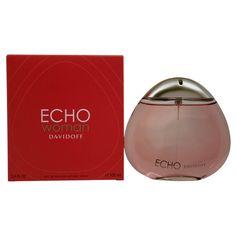 Zino Davidoff Echo Woman EDP Spray ($32) ❤ liked on Polyvore featuring beauty products, fragrance, purple, women's fragrance, wood perfume, eau de parfum perfume, edp perfume, spray perfume and eau de perfume