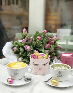 Pluk Amsterdam, Easter, Coffee, Cute, Tulips