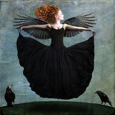 Here on earth: Blessed - Beth Conklin Paul Gauguin, Art Magique, 7 Arts, Ephemeral Art, Richard Feynman, Dylan Thomas, Raven Art, Rabe, Gustav Klimt
