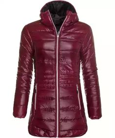 Zimní kabát dámský ERCO KAIRA DRD Winter Jackets, Leather Jacket, Fashion, Winter Coats, Studded Leather Jacket, Moda, Winter Vest Outfits, Fashion Styles, Leather Jackets