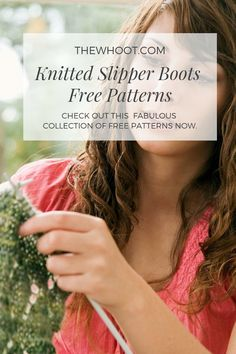 Best Absolutely Free knitting slippers boots Suggestions Ladies Knitted Slipper Boots Free Patterns You'll Adore Knit Slippers Free Pattern, Knitted Slippers, Knitted Gloves, Knitting Socks, Knitting Patterns Free, Knit Patterns, Free Knitting, Yarn Images, Slipper Boots