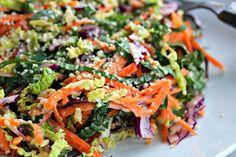 Wholehearted Eats : Autumn Rainbow Coleslaw