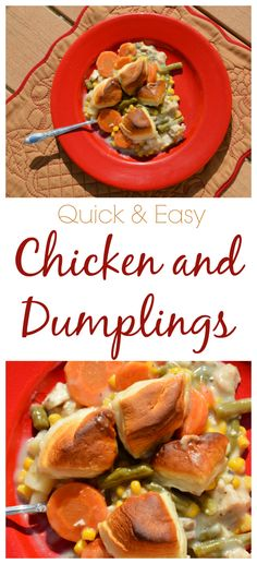 I LOVE Chicken and Dumplings and this recipe is so delicious and easy!