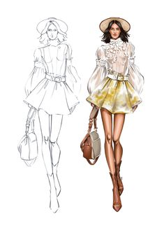 Zimmerman, Cycle, Fashion Sketches, Princess Zelda, My Style, Illustration, Design, Watercolor Painting, Fashion Sketchbook