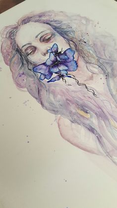 Watercolor painting by Timothy Jozef