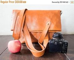 SUMMER SALES SMALL  Dslr Fold Over Camera Bag with Insert