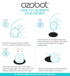 Tips on how to calibrate your Ozobot! http://ozobot.com