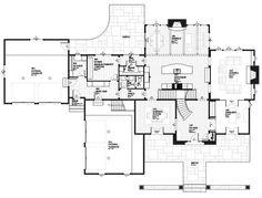 Luxury Plan: 4,427 Square Feet, 5 Bedrooms, 3.5 Bathrooms - 1637-00059