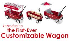 Customized Radio Flyer Wagon? Cool idea!