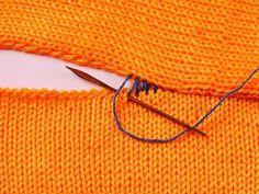 Как сшить вязаные детали так, чтобы шов получился аккуратным и незаметным с лицевой стороны