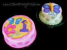 1st birthday butterfly smash cake - Google Search
