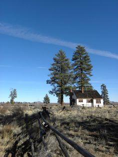 Fort Rock State Park, Oregon USA - Cabin Lake Guard Station