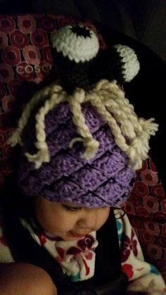 monster inc gorro crochet