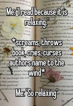 "Percy Jackson Jokes & Headcanons – ""So Relaxing"" - Book lovers I Love Books, Good Books, Books To Read, My Books, Good Book Quotes, Book Of Life, The Book, Book 1, Image Hilarante"