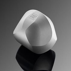 Sand Blasted Aluminium Gomboc, a Unique Mathematical Innovation, self-righting Shape, Science Toy and Exclusive Gift