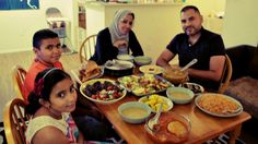 Breaking bread in Texas, which has resettled more refugees than any other state.