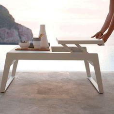 Buy the Cane-Line Chill-Out Coffee Table from our designer outdoor furniture department at Chaplins. Showcasing the very best in modern design.