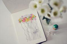 sketchbook #15 by oanabefort, via Flickr
