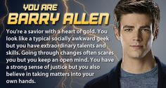 The Flash - Personality Quiz - Which 'The Flash' Character Are You?