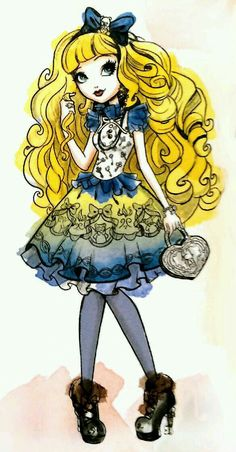 anime ever after high Ever After High, Monster High Art, Monster High Dolls, Ever After Dolls, Cartoon As Anime, Raven Queen, After High School, Cartoon Painting, Cute Art
