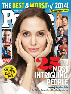 ON NEWSSTANDS 12/12/14: Angelina Jolie talks to PEOPLE about her amazing year. Plus: The best and worst of 2014 and more!