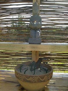 Budha v mé zahradě