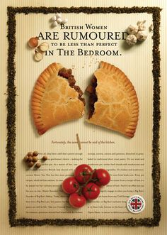 The Big Ben's Bakery posters created by Kinetic feature authentic British pies based on original recipes. Don't they look great.