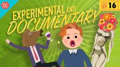 Experimental and Documentary Films: Crash Course Film History Screen Junkies, Experimental Music, Film Studies, College Humor, Documentary Film, Latest Movies, Filmmaking, Movies And Tv Shows, Psychedelic