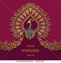 Indian Wedding Stock Royalty Free & Vectors for hindu wedding invitation card background design Hindu Wedding Cards, Indian Wedding Invitation Cards, Wedding Invitation Background, Creative Wedding Invitations, Wedding Invitation Card Template, Wedding Invitation Design, Invitation Suite, Invites, Wedding Background