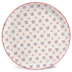 Hen earthenware dinner plate, D 27 cm | Maisons du Monde