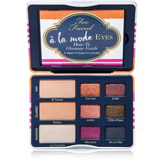 Too Faced Cosmetics Too Faced Cosmetics A la Mode Eyes - Sexy St. ($34) ❤ liked on Polyvore featuring beauty products, makeup, eye makeup, eyeshadow, beauty, palette eyeshadow and too faced cosmetics