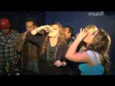 Jenni Rivera Tequila shots whit A.B Quintanilla