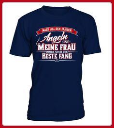 Intelligent Cooles Angel Fun T-shirt Bester Fang Bedruckt Angeln Fischen Fishing Shirts & Hemden