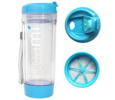 Teami Tumbler: With your Teami Travel Tumbler you will be able to brew our yummy loose leaf tea in minutes and while On-The-Go. BPA free! #NuHealth NuHealthLifestyle.com