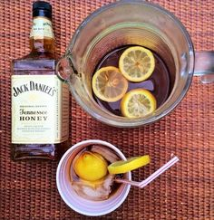 Jack Daniel's Honey and Sweet Tea! The ONLY cocktail you need this summer!