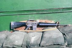 M16A1 5.56mm Assault rifle.